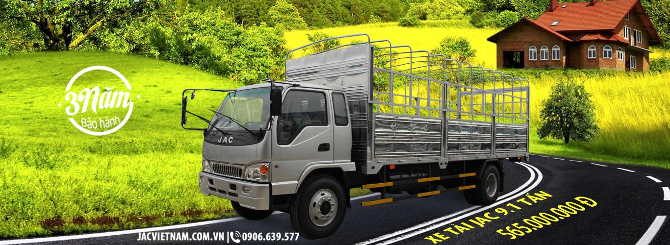 Xe tải jac 9.1 tấn